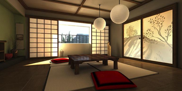 Особенности японского стиля в создании интерьера