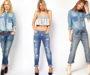 Модные джинсы текущего сезона: актуальные фасоны, расцветки, декор