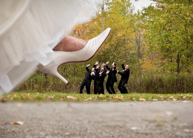 Оригинальные идеи для свадебной фотосессии