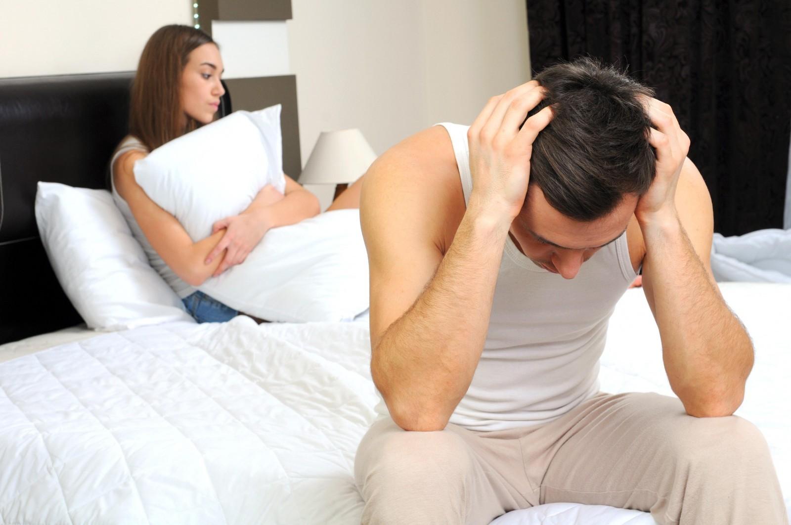 Нервные болезни и отсутствие сексуального влечения у мужчин