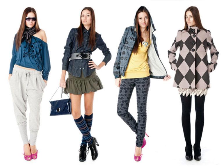 Стильная повседневная одежда в интернет магазинах