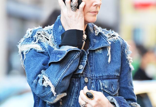 Актуальный тренд – джинсовая куртка
