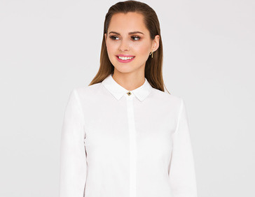 Белый цвет будет модным всегда!