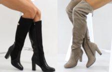 Модные женские осенние сапоги — тенденции