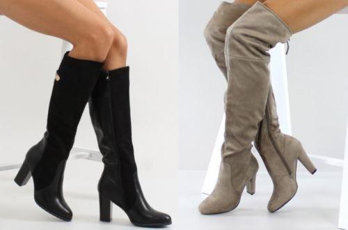 Модные женские осенние сапоги   тенденции