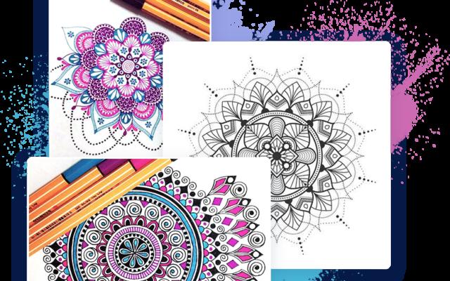 Раскраски мандалы от Magma8.com